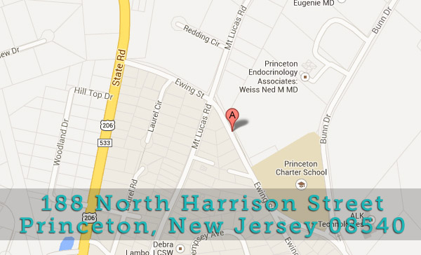 Princeton Park Dental Associates is located at: 188 North Harrison Street, Princeton, New Jersey 08540